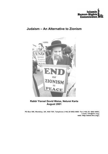7847_01durbanjudaism.pdf - Islamic Human Rights Commission