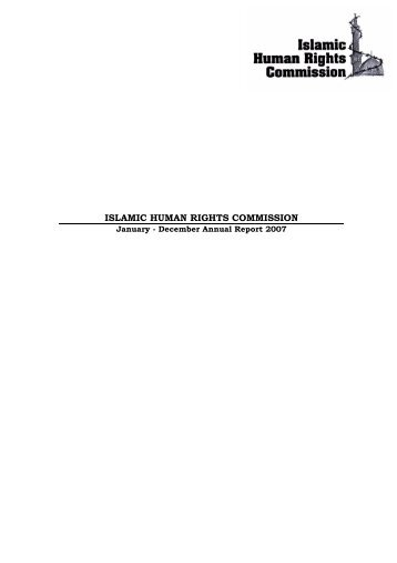 here - Islamic Human Rights Commission