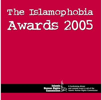 The Islamophobia The Islamophobia - Islamic Human Rights ...