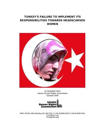 turkeyFINAL.pdf - Islamic Human Rights Commission