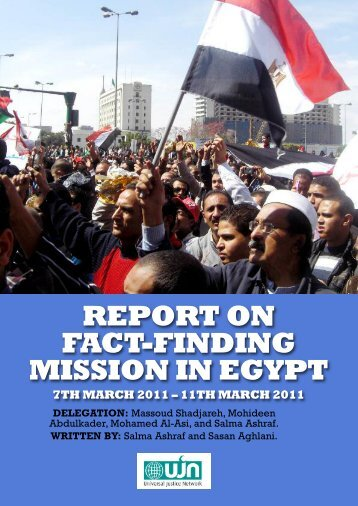 report on fact-finding mission in egypt - Islamic Human Rights ...