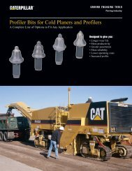 Profiler Bits for Cold Planers and Profilers - PEHP9517