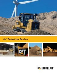 AECQ1043, Cat Product Line Brochure - Alban Tractor Company