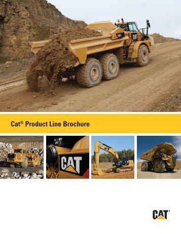 Brochure for Cat Product Line AECQ1043-01 - Cashman Equipment