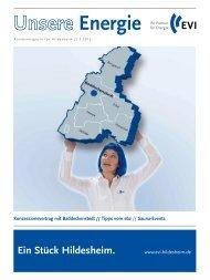 Jetzt sichern und sparen – EVI - EVI Energieversorgung Hildesheim