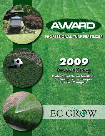 2009 Product Listing - Sitepro