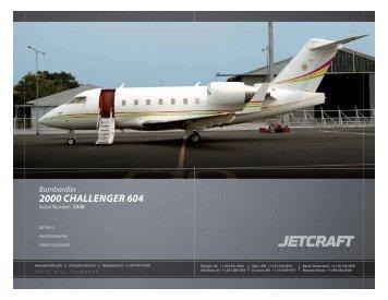Bombardier 2000 Challenger 604