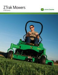 ZTrak 700 Series Brochure - Holland & Sons, Inc.