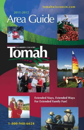 Area Guide Tomah - Sitepro