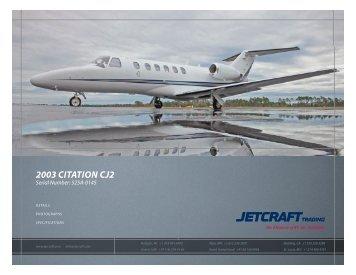 2003 Citation CJ2 - Sitepro