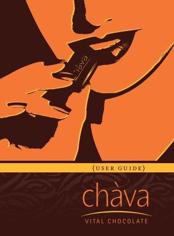Chava User Guide / PDF File - Shop - Waiora