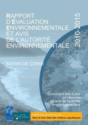 Rapport d'évaluation environnementale - L'eau dans le bassin de ...