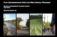 Plan Implementation Guide for West Central Wisconsin