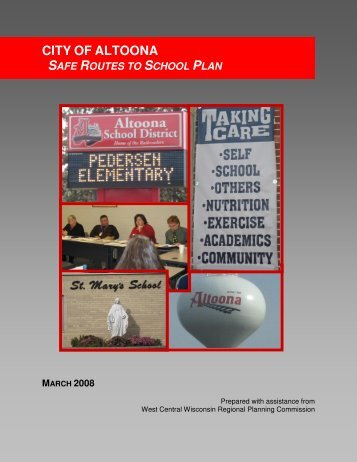 City of Altoona Safe Routes to School (SRTS) Plan - West Central ...