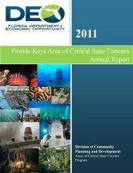 2011 Florida Keys Annual Report - Department of Economic ...
