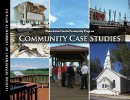 COMMUNity CASE StUdiES - Department of Economic Opportunity