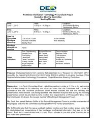 Executive Steering Committee Meeting Minutes 6/11-12/13