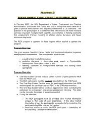 Attachment H - Department of Economic Opportunity