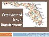Overview of Travel Requirements - Department of Economic ...