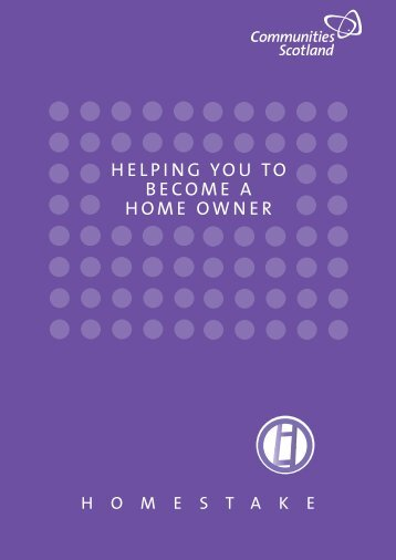 helping you to become a home owner - Cube Housing Association