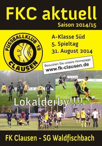FKC Aktuell - 05. Spieltag - Saison 2014/2015