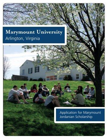 Download - Marymount University