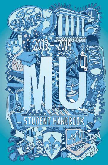 Student Handbook - Marymount University