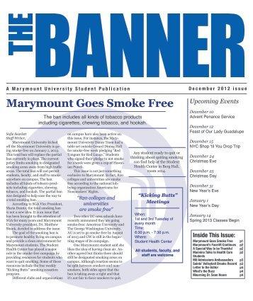 December - Marymount University