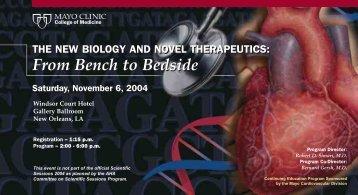 Tri 4-Color 6x11 Postcard AHA New Biology - MC4111 ... - Mayo Clinic