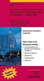 CME JAX Brochure - Changing Trends - MC8100-28 - Mayo Clinic