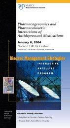 Disease Mgmt Strategies January 2004 - MC2791-0104 - Mayo Clinic
