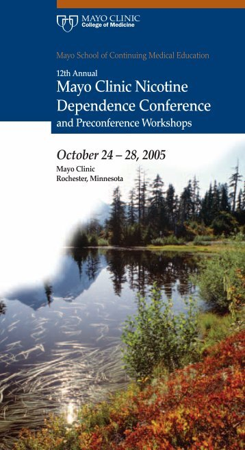Mayo Clinic Nicotine Dependence Conference