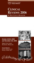 CME 5 Panel 2-Color -Clinical Reviews - MC8004-08 - Mayo Clinic