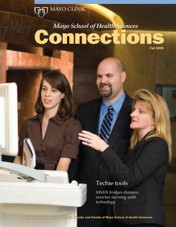 MSHS Alumni Connection Mag Fall 09 - MC4192-1109 - Mayo Clinic