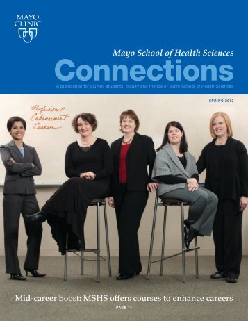 MSHS Alumni Connection Mag SP 12 - MC4192-0312 - Mayo Clinic