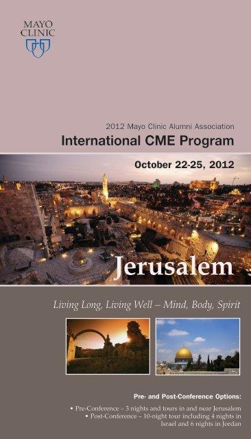 Jerusalem - Mayo Clinic