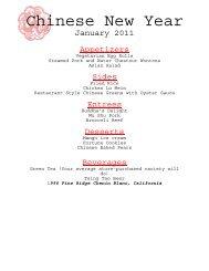 January 2012: Chinese New Year