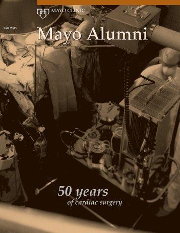 Mayo Alumni Magazine 2005 Fall - MC4409-1105 - Mayo Clinic