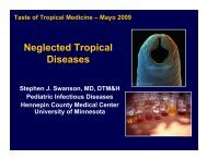 Neglected Tropical Diseases - Mayo Clinic