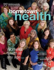 Caring - Mayo Clinic Health System