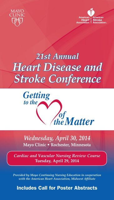 CNE - Heart of Matter Conference Brochure - MC2301