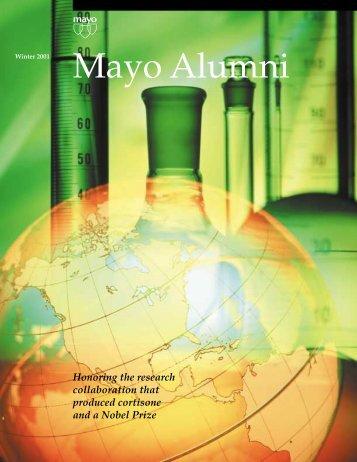 Mayo Alumni Magazine 2001 Winter - MC4409-WI01 - Mayo Clinic