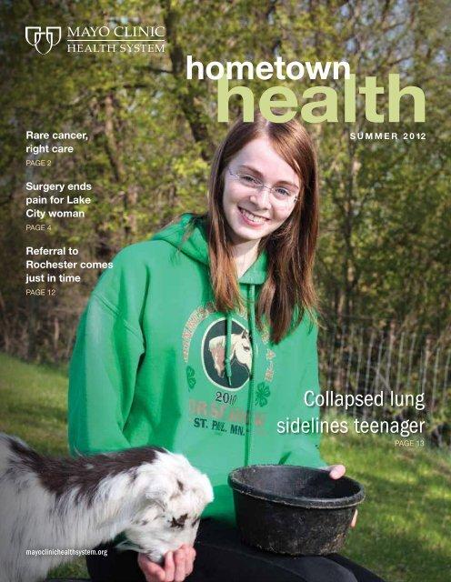 Hometown Health Newsletter: Lake City - MC2443-LC - Mayo Clinic
