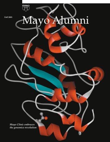 Mayo Alumni Magazine 2001 Fall - MC4409-1001 - Mayo Clinic