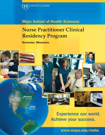 Nurse Practitioner Clinical Residency ROCH ... - Mayo Clinic