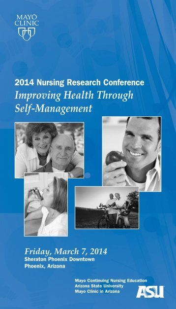 CNE- 21st Annual Nursing Research Conference ... - Mayo Clinic