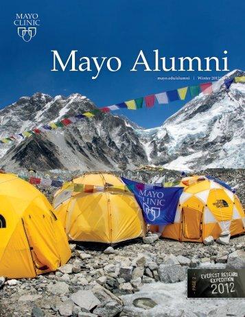 Mayo Alumni Magazine Winter 2012/2013 - MC4409 ... - Mayo Clinic