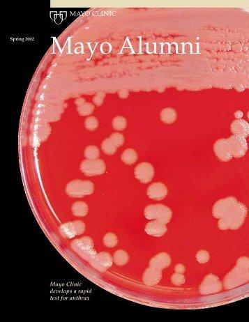 Mayo Alumni Magazine 2002 Spring - MC4409-0402 - Mayo Clinic