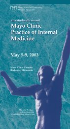CME 5 Panel 2-Color -Practice of Int Med - MC8004-03 - Mayo Clinic