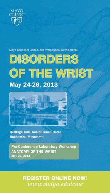 Disorders of the Wrist - Mayo Clinic